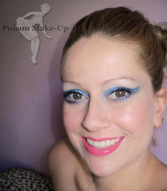 Make com delineado azul