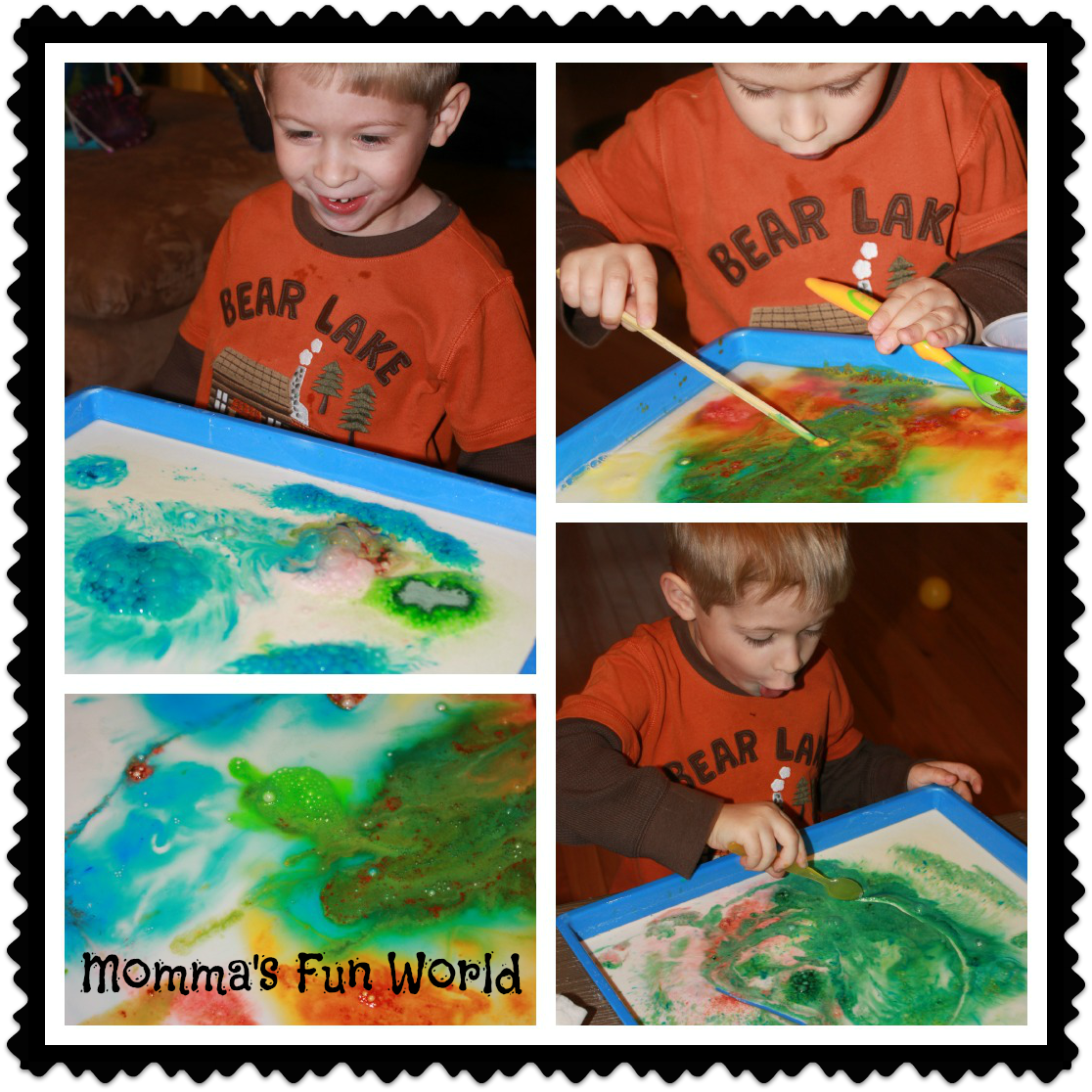 Momma S Fun World Fizzing And Bubbling Goop Kids Science