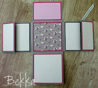 Fold Out Mini Book