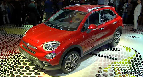 Fiat 500X Unveil in Paris