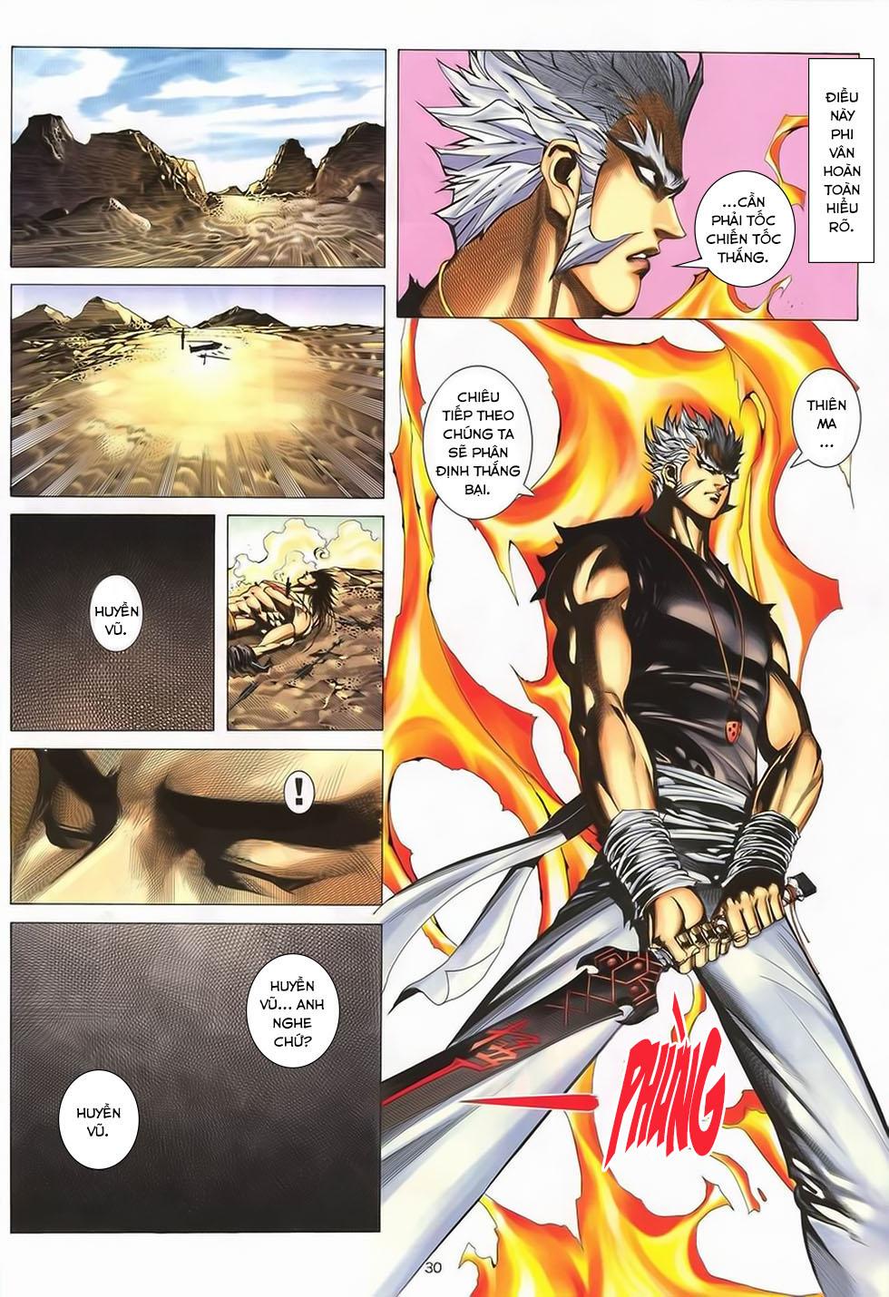 Chiến Thần Ký chap 40 - Trang 30