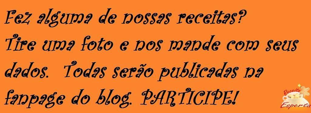 Envie para: priscila@receitaesperta.com.br