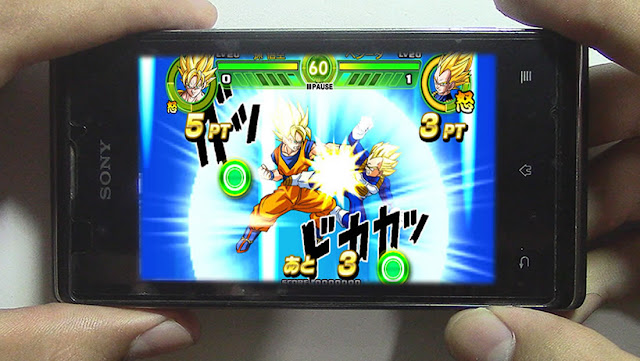 DRAGON BALL Z TAP BATTLE ANDROID