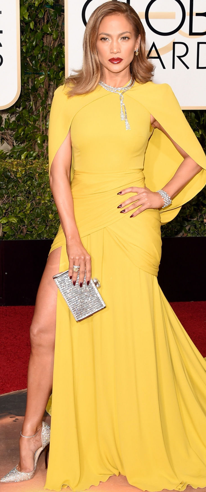 Jennifer Lopez 2016 Golden Globe Awards