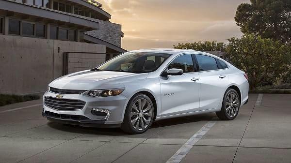 Chevrolet presentó el nuevo Malibu en el Salón de Nueva York