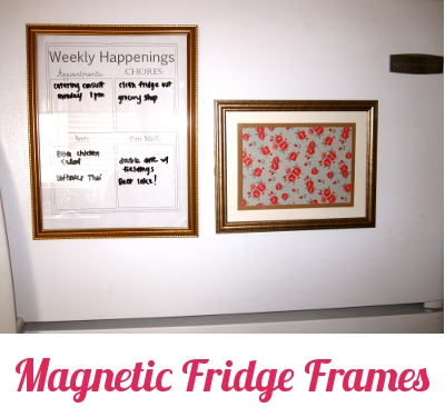 DIY Magnetic Fridge Frames - Pretty Providence