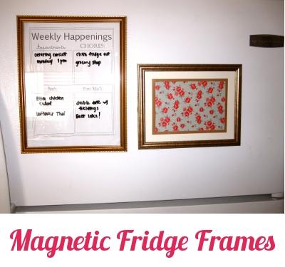 Diy Magnetic Fridge Frames Pretty Providence
