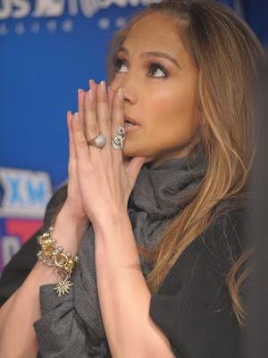 Jennifer Lopez Gold Bracelet