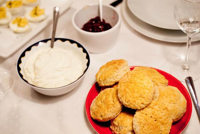 scones raspberry
