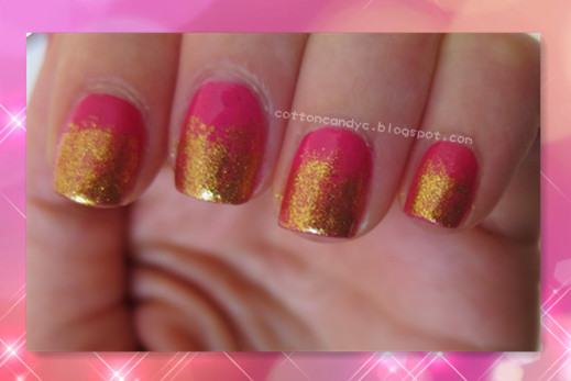 Tutorial: Effie Trinket Inspired Nail Art (The Hunger Games)