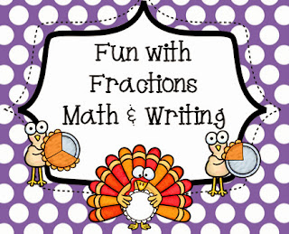 http://www.teacherspayteachers.com/Product/Thanksgiving-Fun-with-Fractions-and-Writing-962986