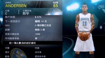 Nba 2k12 chris andersen my player patch nba2k org