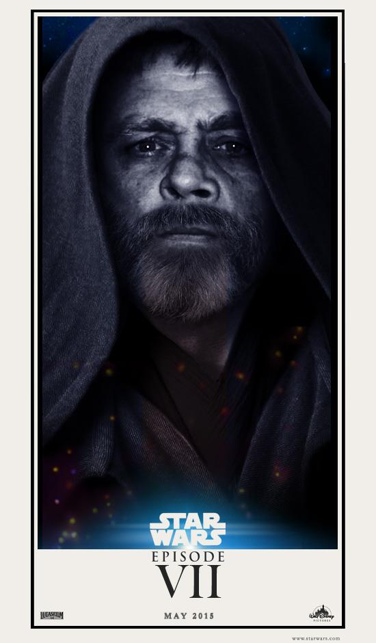 Star Wars 7 Luke Skywalker