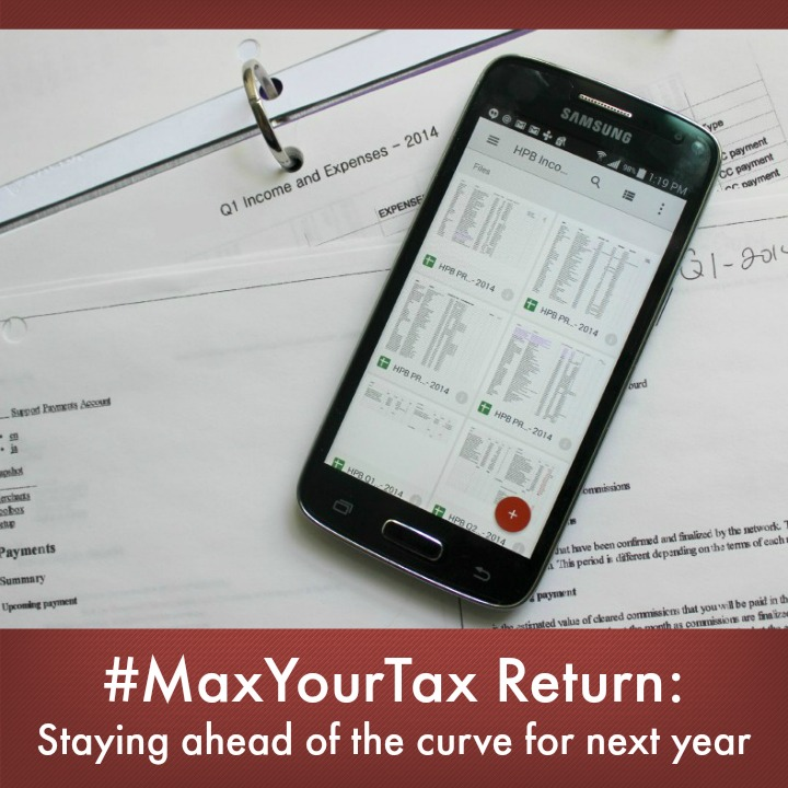 #MaxYourTax Return: Staying ahead of the curve for next year #CollectiveBias