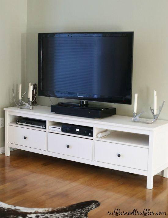 Mueble televisión Hemnes de Ikea