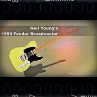 Neil Young Fender Broadcaster