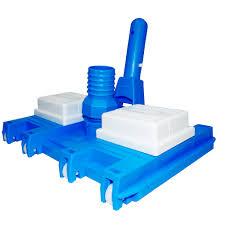 Aspirador 8 Rodas p/ piscinas de fibra e alvenaria