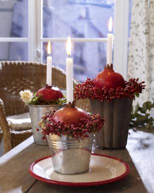 Dolce vita weihnachts deko mit kerzen - Deko mit kerzen ...