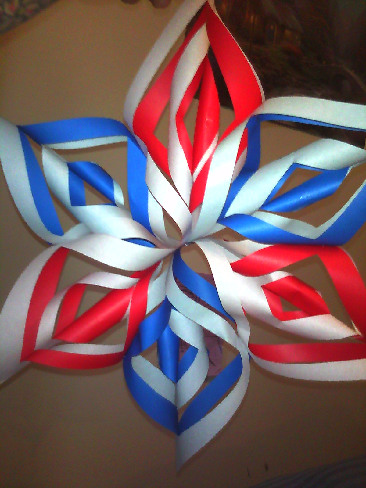 3d folded paper star pattern images