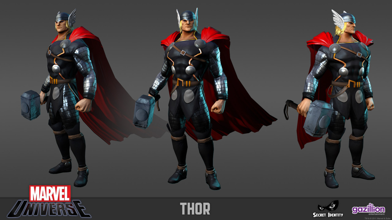 Game Character Design Competition 2015 : The daily zombies marvel universe mmog first look