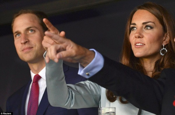prince william and kate london olympics