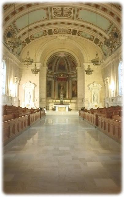 Allen Organ for St. Charles Seminarians papal mass practice