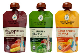 Peter Rabbit Organics veggies