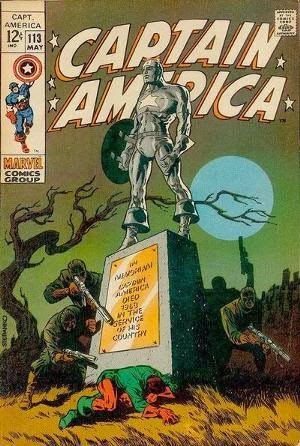 Captain America #113 comic cover