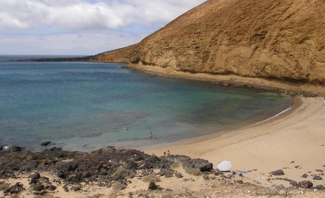 Playa nudista La Cocina (La Graciosa)