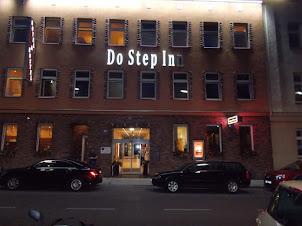 """Do Step Inn"" hostel building. My residence in Vienna."