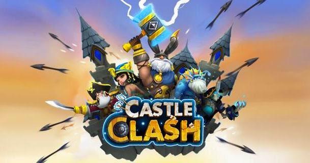 Cara Mendapatkan Gems Gratis di Konflik Kastil (Castle Clash)