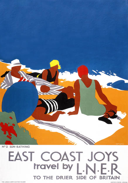 tom purvis LNER poster publicitario east cost advertising poster