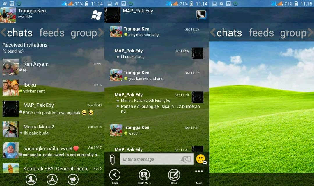 BBM Modifikasi versi Windows Phone Terbaru | Base 2.5.0.36!