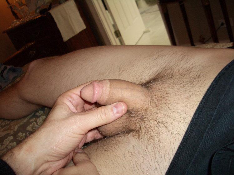 Naked circumcised boy penis
