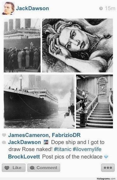 Титаник в инстаграм