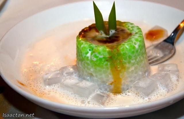 Dessert #2, Sago with gula melaka