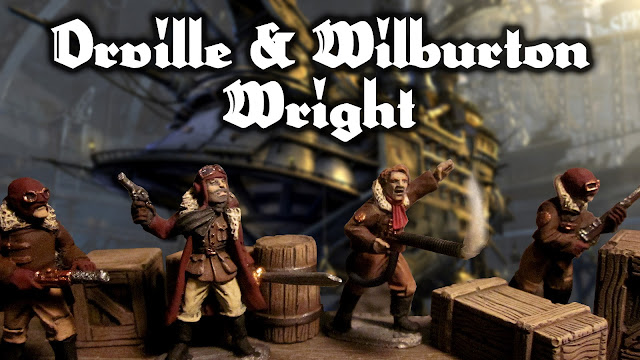 In Her Majesty's Name: How to Paint Orville and Wilburton Wright for the Wright Pirates