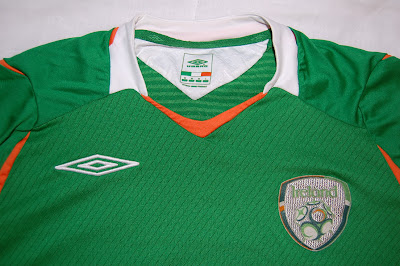Ireland football shirt