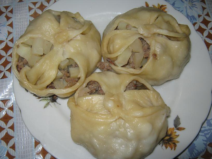 Манты татарские рецепт