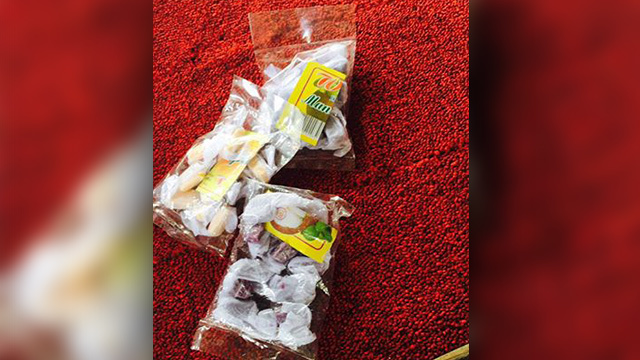 Alleged 'durian' candy that poisoned 200 kids in Surigao del Sur towns