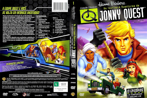 As Incríveis Aventuras de Jonny Quest: Primeira Temporada - Volume 1