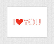 I just put up a new card called I Heart You Valentines Day Greeting Card.