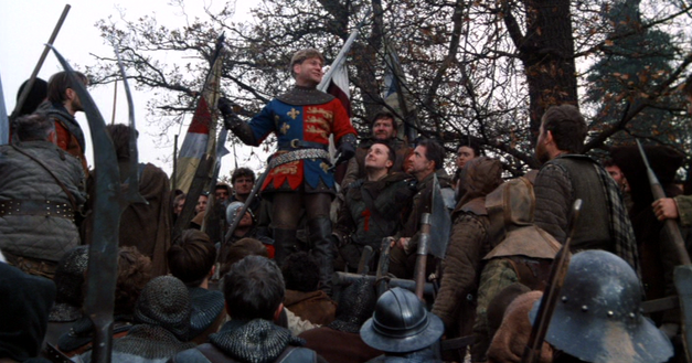 a comparison of the film adaptation of henry v by laurence olivier and kenneth branagh Almost everyone compared first-time director kenneth branagh with laurence olivier adaptation of shakespeare's historical play henry v kenneth branagh.