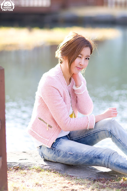 2 Choi Byeol Yee - Simple Beautiful Outdoor-very cute asian girl-girlcute4u.blogspot.com