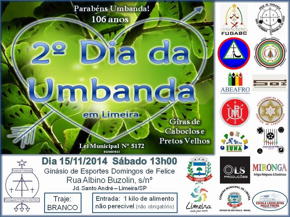 2º Dia da Umbanda em Limeira
