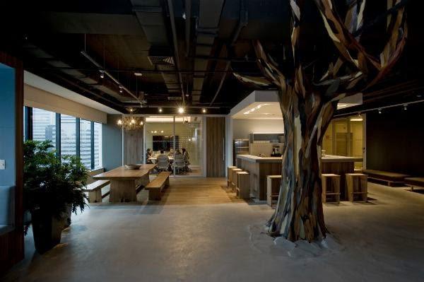 Área externa do escritório do Twitter no Brasil