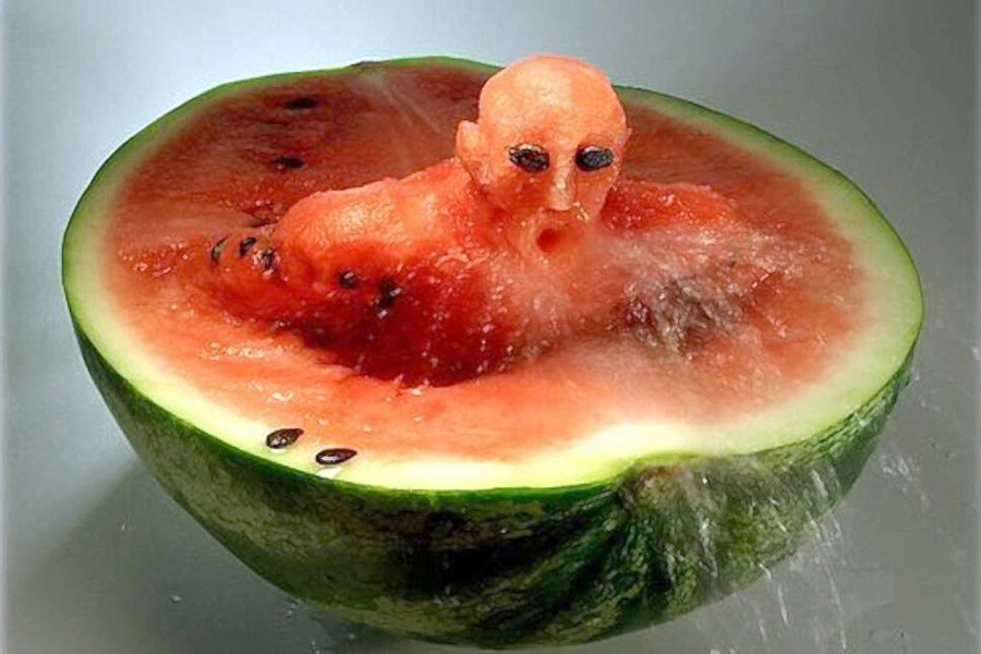 How to fuck a watermelon pics 75