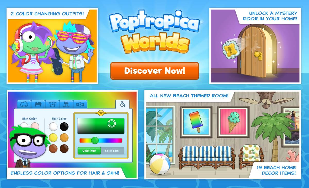 Summer release house expansions colorizer outfits and more poptropica creators blog