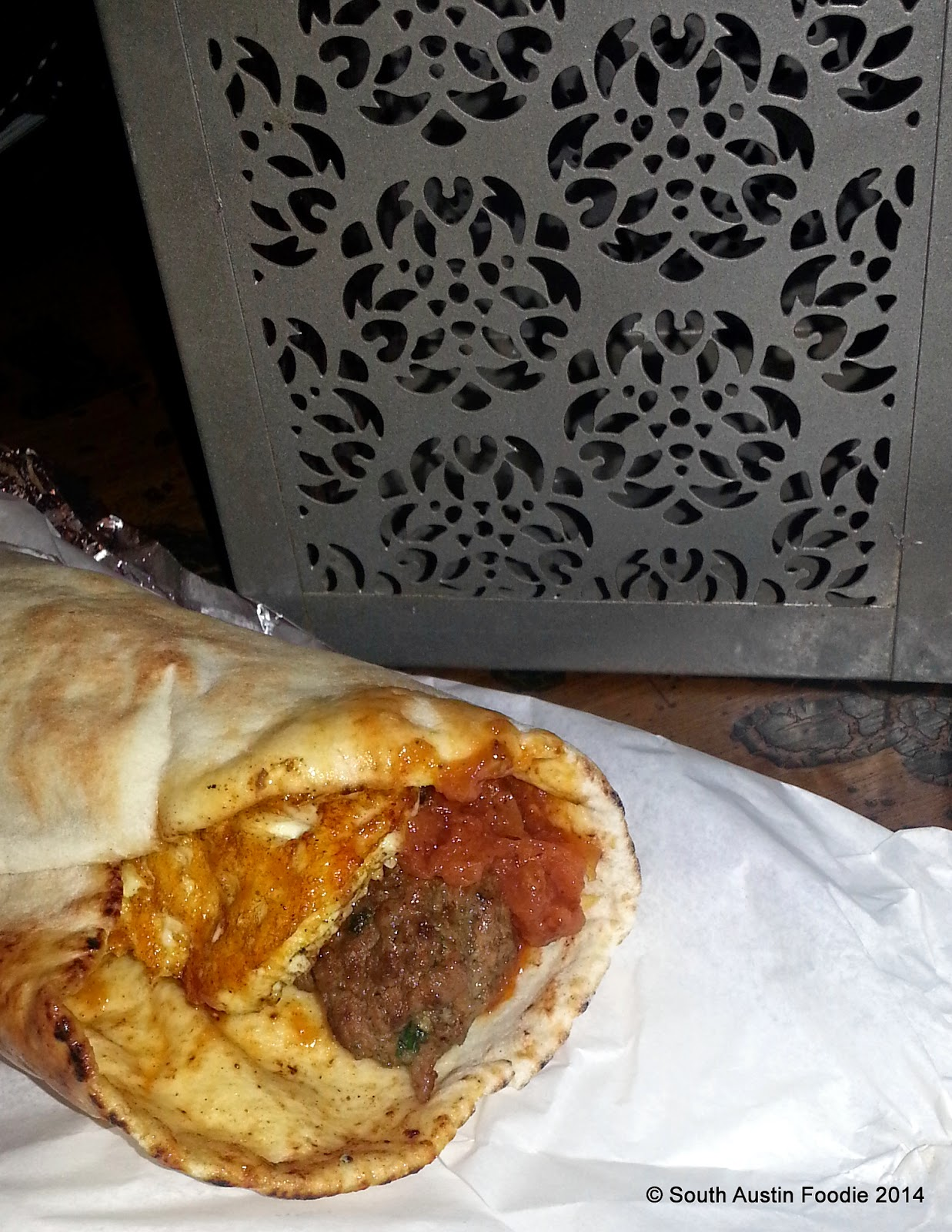 The Flying Carpet -- The Moroccan beef kefta
