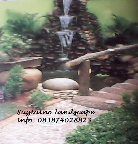 tukang kolam minimalis, kolam relief cadas | tukang taman